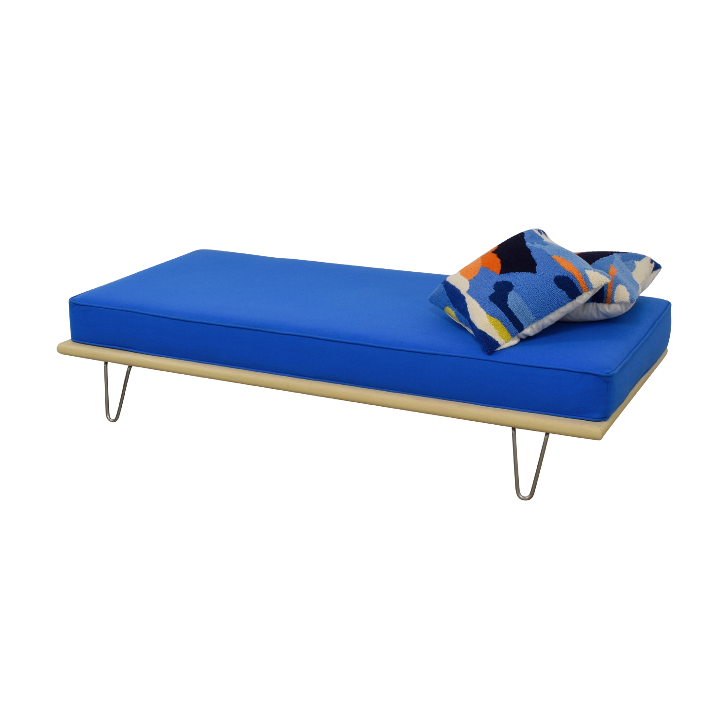 buy Design Within Reach Design Within Reach George Nelson Berry Blue Daybed online