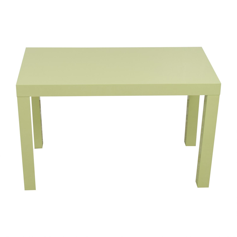 West Elm West Elm Parsons Green Double Drawer Desk dimensions