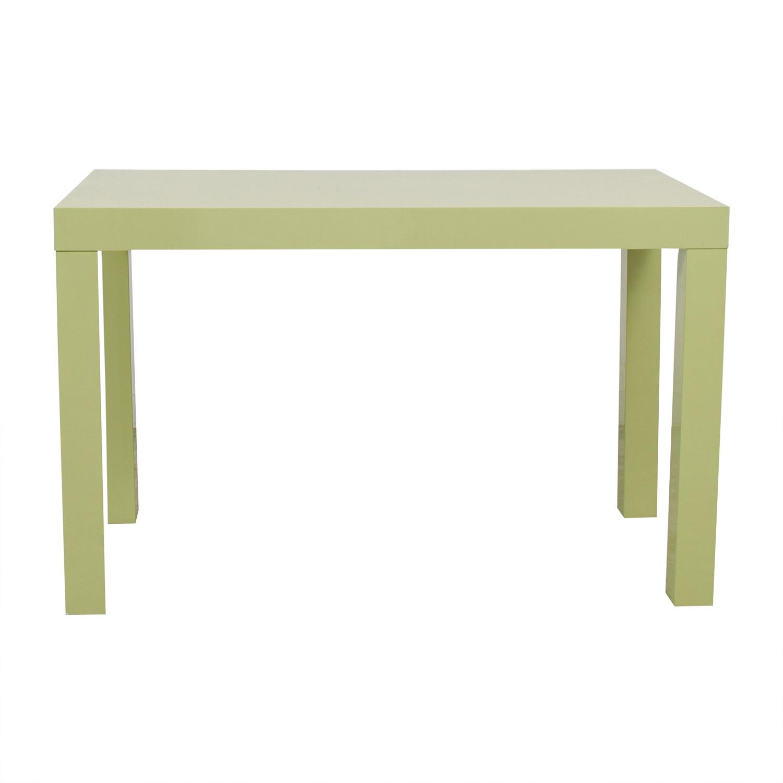 West Elm Parsons Green Double Drawer Desk West Elm