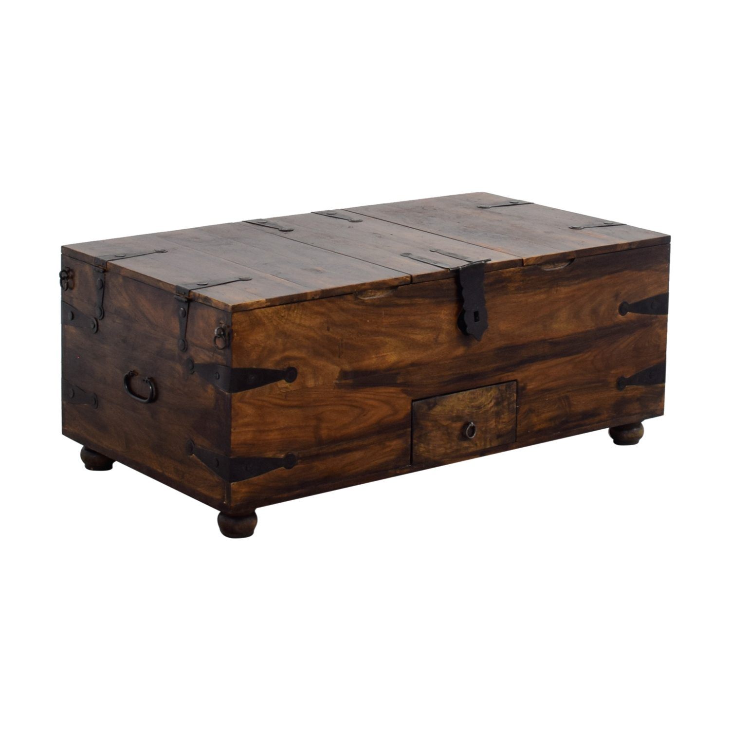 Crate And Barrel Black Marble Coffee Table: Crate And Barrel Crate & Barrel Chest Coffee