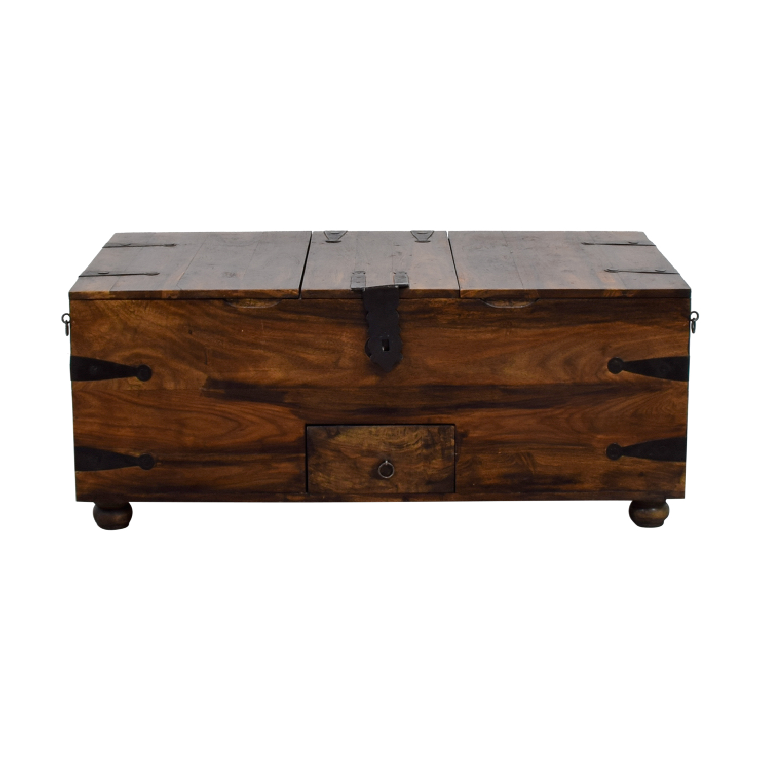 52 Off Crate Barrel Chest Coffee Table Tables