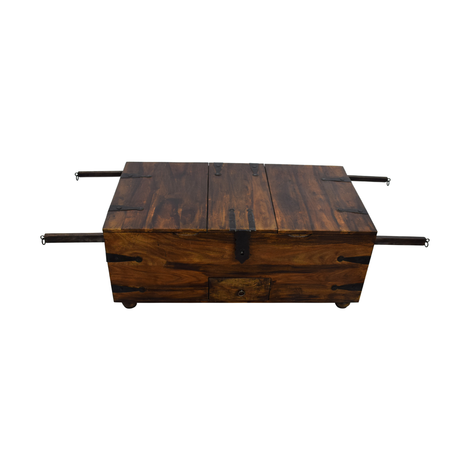 52 Off Crate And Barrel Crate Amp Barrel Chest Coffee