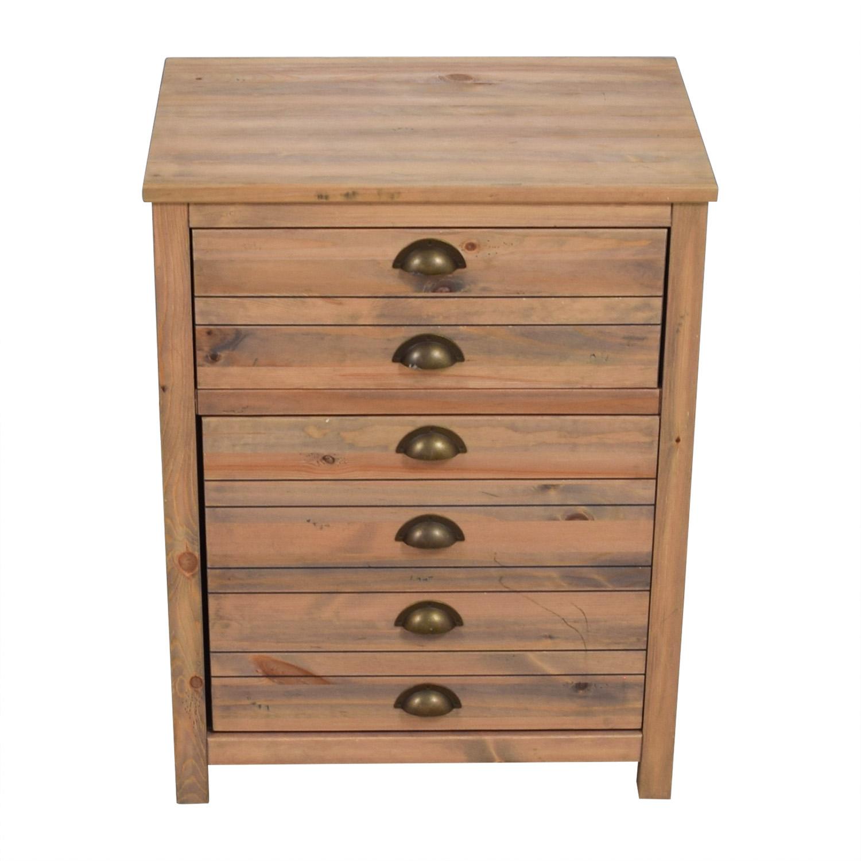 NEXT Wooden Cabinet With Swinging Door dimensions