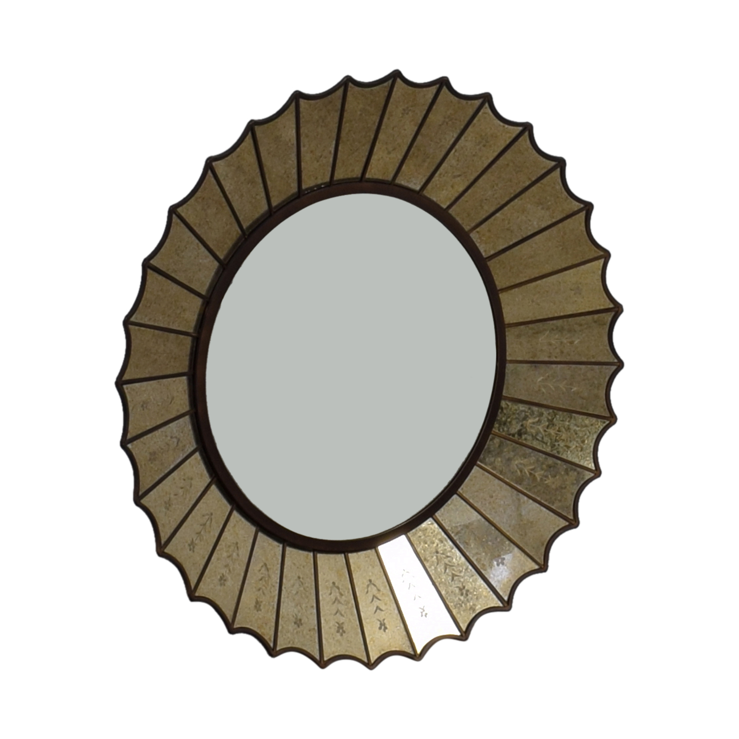 shop Horchow Round Decorative Mirror Horchow Mirrors