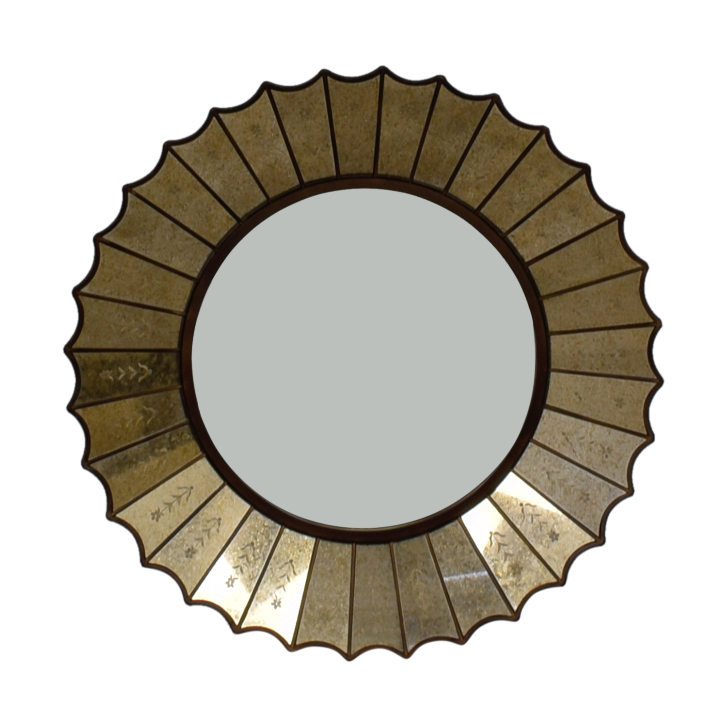 90 Off Horchow Horchow Round Decorative Mirror Decor