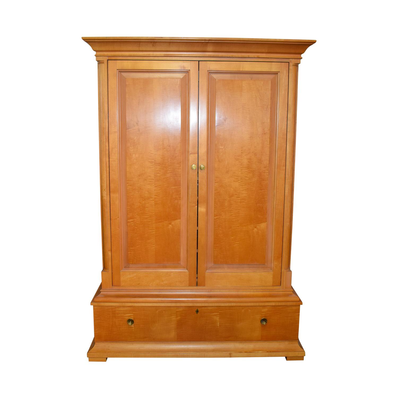 Drexel Heritage Drexel Heritage Visions Wood Media Cabinet Storage