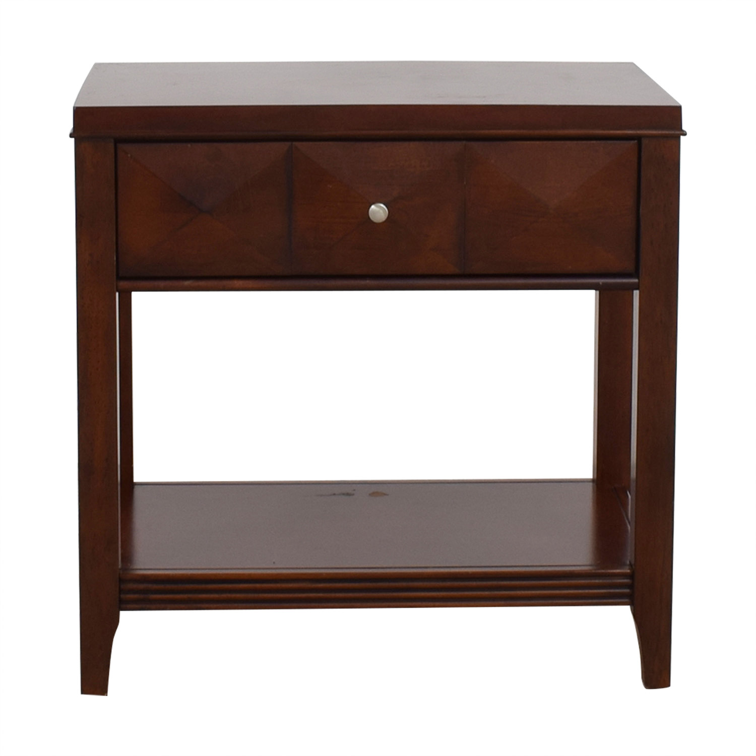 Raymour & Flanigan Shadow Expresso Single Drawer Nightstand / Tables