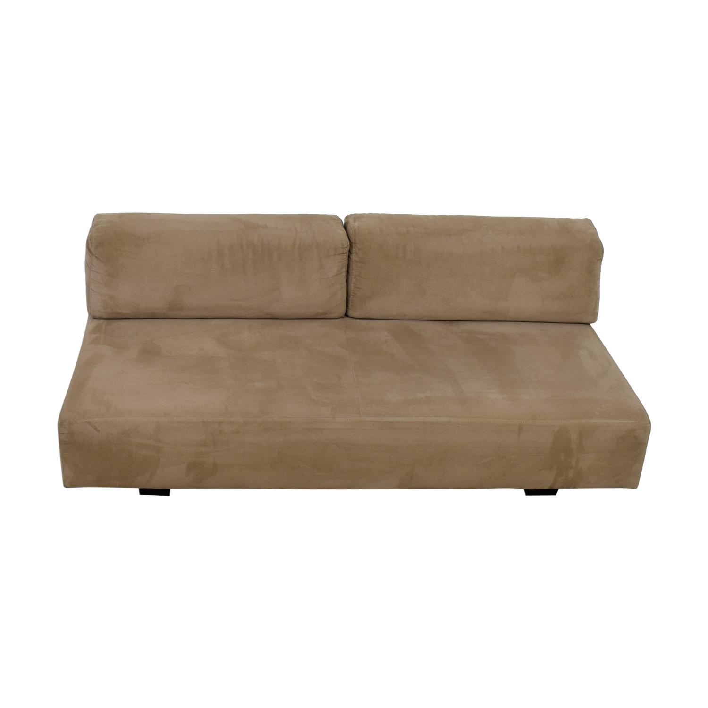West Elm West Elm Tan Interchangable Sofa used