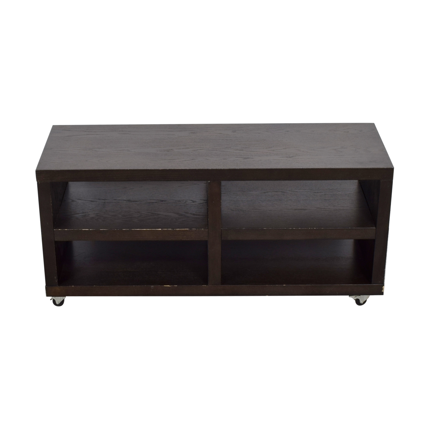 West Elm West Elm Wood TV Stand on Casters nj