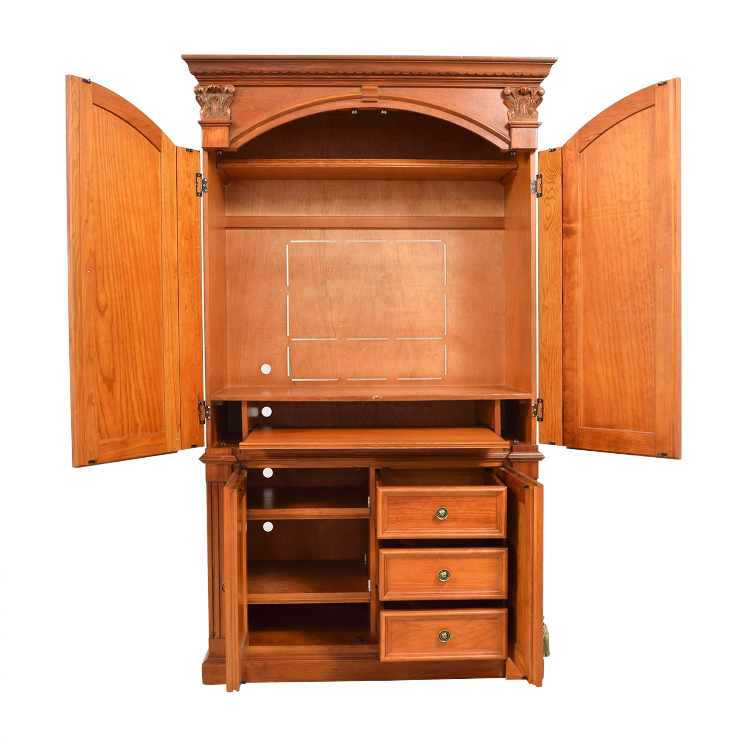 Hamilton Heritage Hamilton Heritage Entertainment Armoire on sale