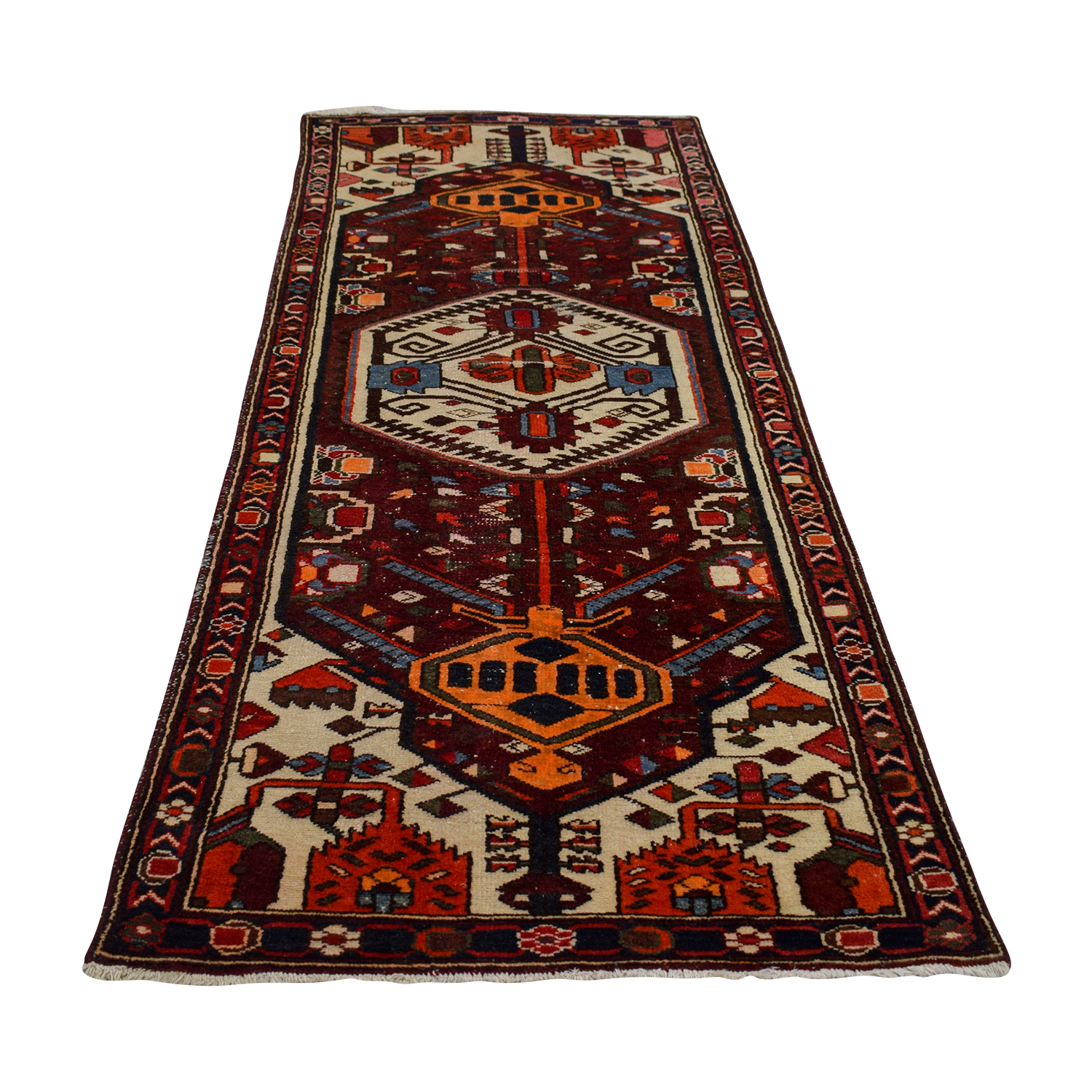 Turkish Hand Made Wool Runner Rug