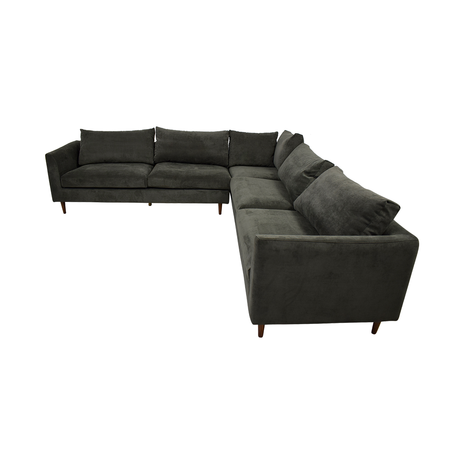 Owens Grey L-Shaped Sectional coupon