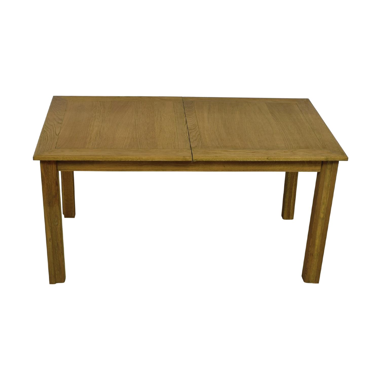 Brilliant 46 Off Restoration Hardware Restoration Hardware Reclaimed Oak Extentable Dining Table Tables Inzonedesignstudio Interior Chair Design Inzonedesignstudiocom