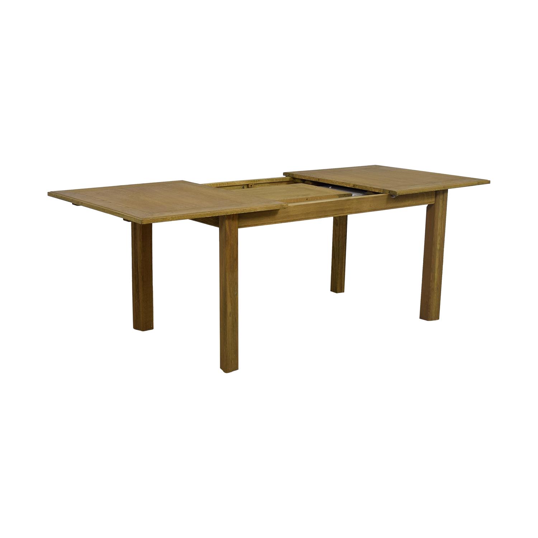 Incredible 46 Off Restoration Hardware Restoration Hardware Reclaimed Oak Extentable Dining Table Tables Inzonedesignstudio Interior Chair Design Inzonedesignstudiocom
