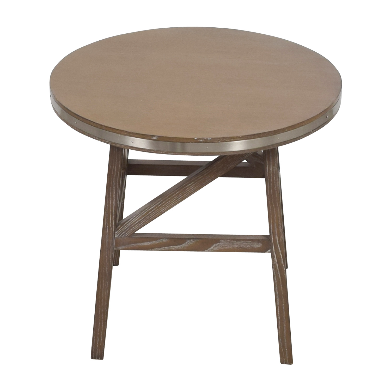 shop Mitchel Gold + Bob Williams Round Wood Side Table Mitchel Gold + Bob Williams End Tables