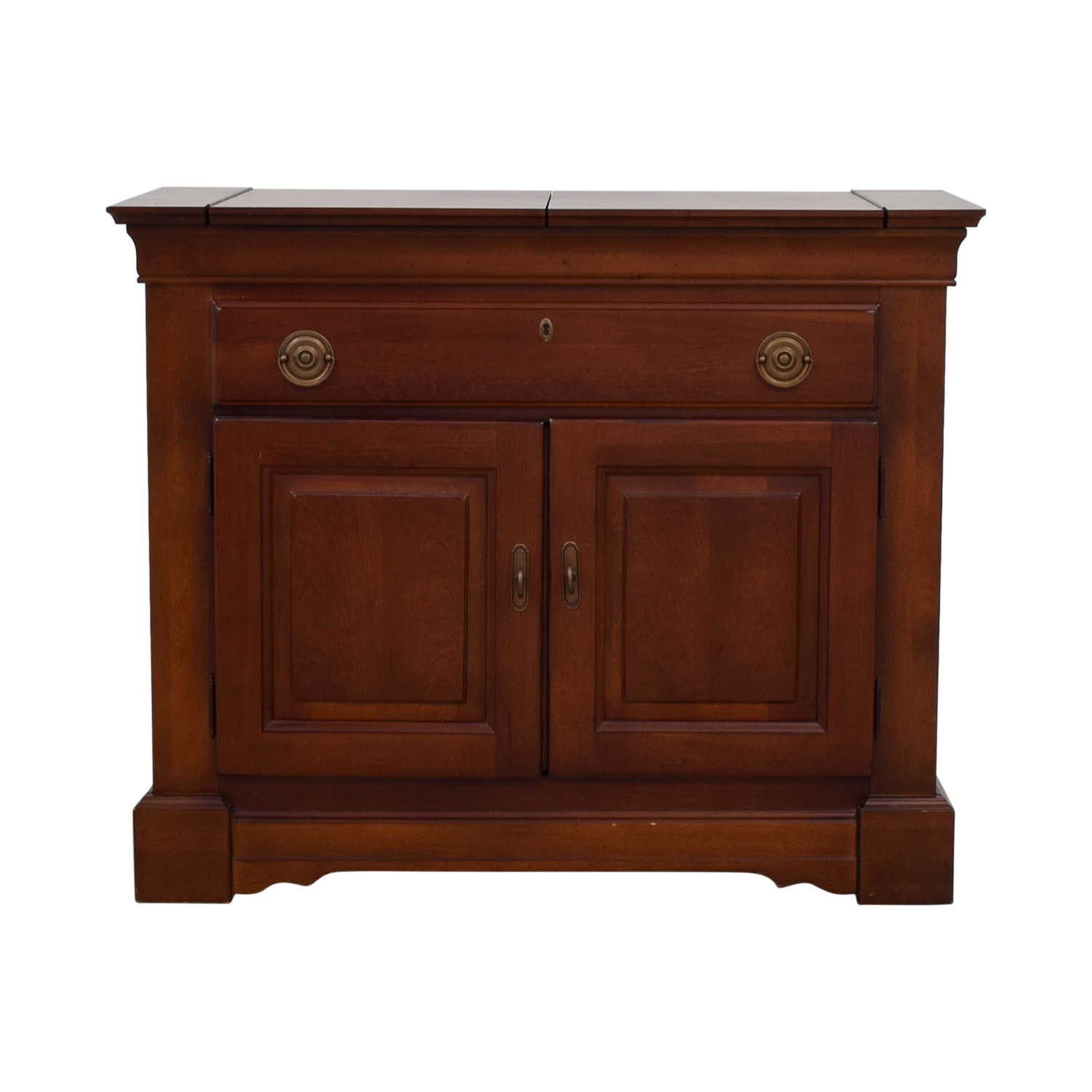 shop Bar Storage and Serving Cabinet