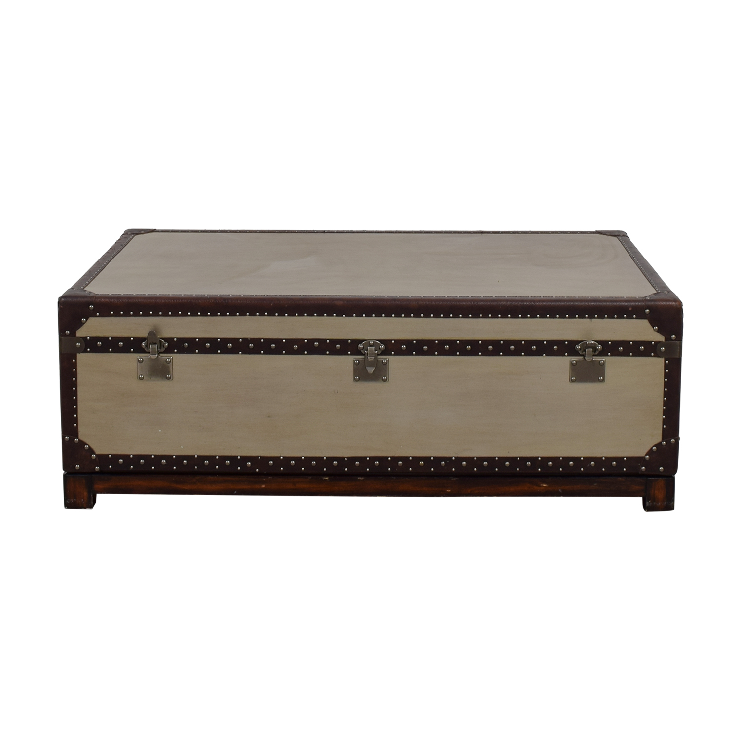 Restoration Hardware Trunk Coffee Table / Trunks