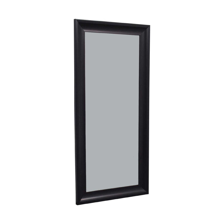 Black Floor Mirror price