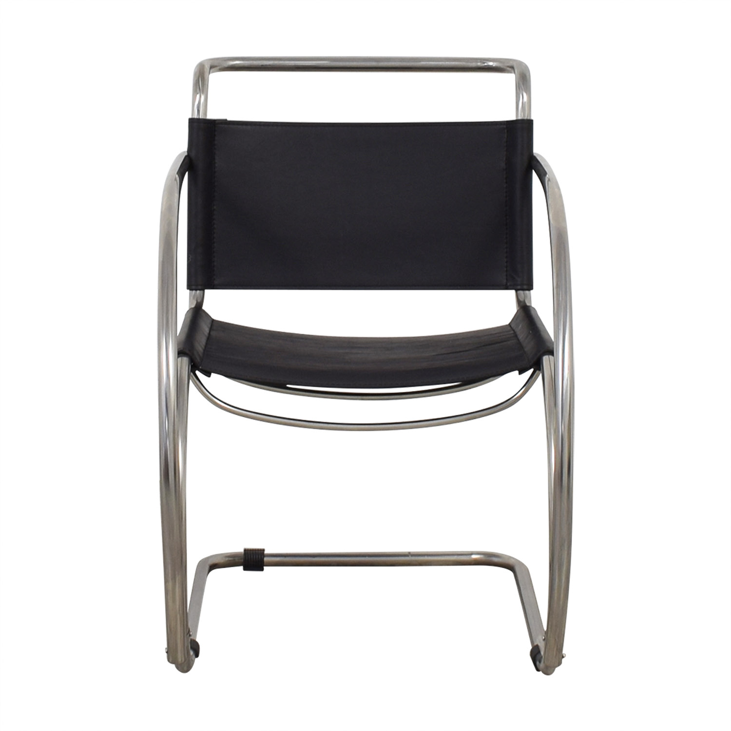 Awesome 88 Off Restoration Hardware Restoration Hardware Black And Chrome Accent Chair Chairs Cjindustries Chair Design For Home Cjindustriesco