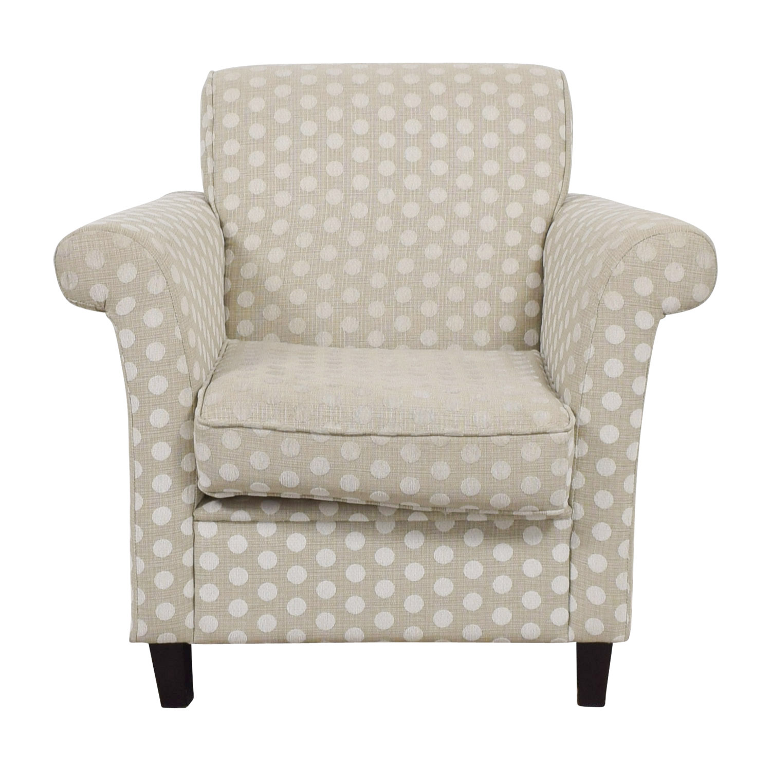 Adventures in Furniture Adventures in Furniture Polka Dot Arm Chair used