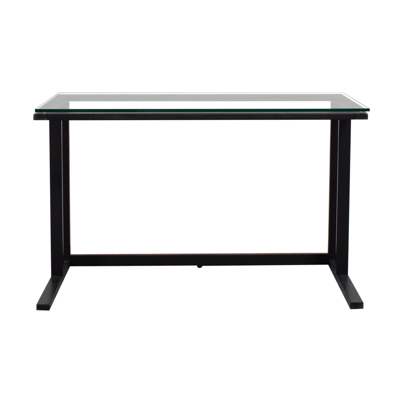 Glass Office Desk on sale