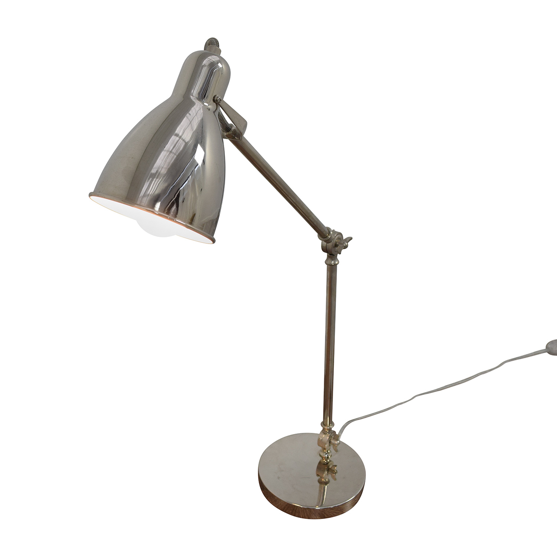 48 off west elm west elm chrome desk lamp decor. Black Bedroom Furniture Sets. Home Design Ideas