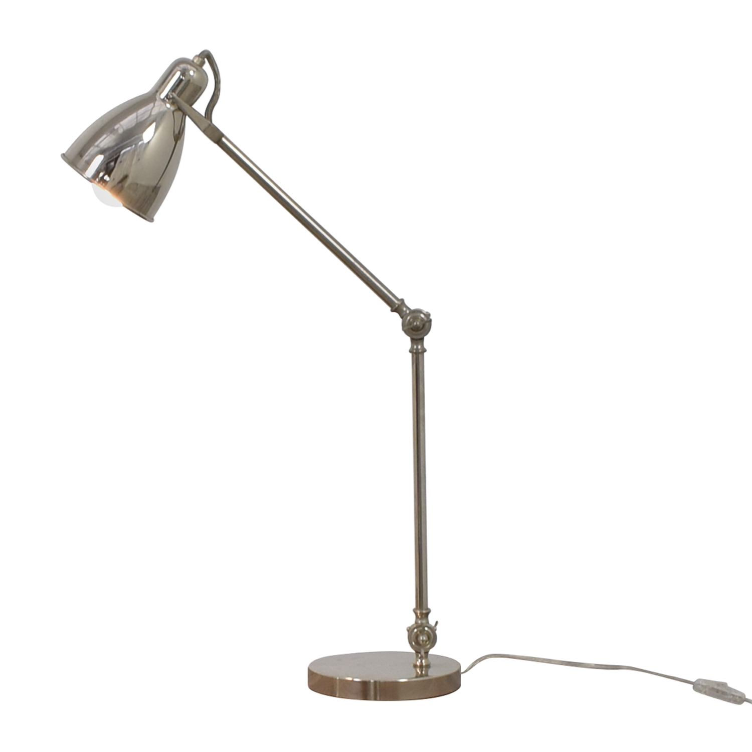buy West Elm Chrome Desk Lamp West Elm Lamps