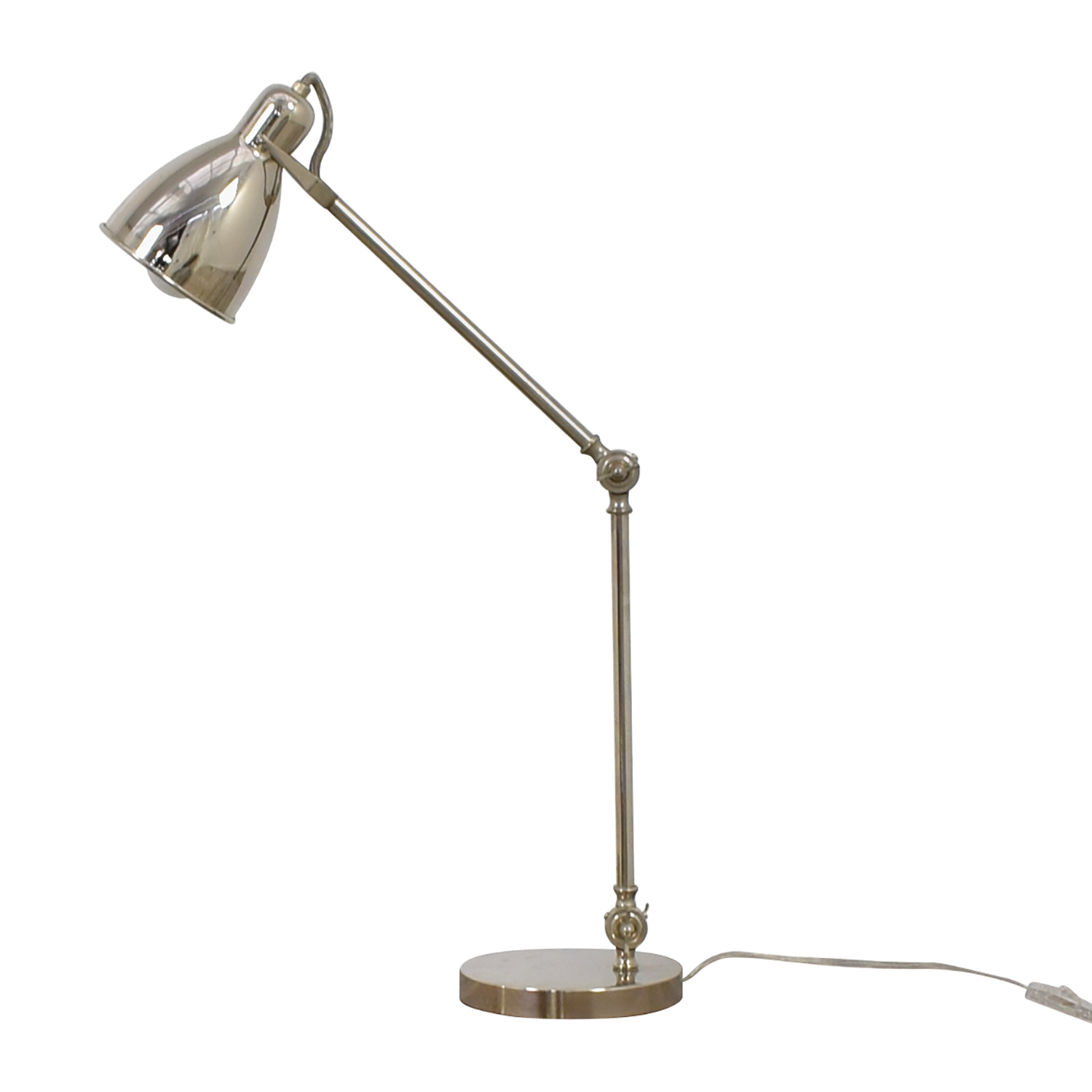 shop West Elm Chrome Desk Lamp West Elm
