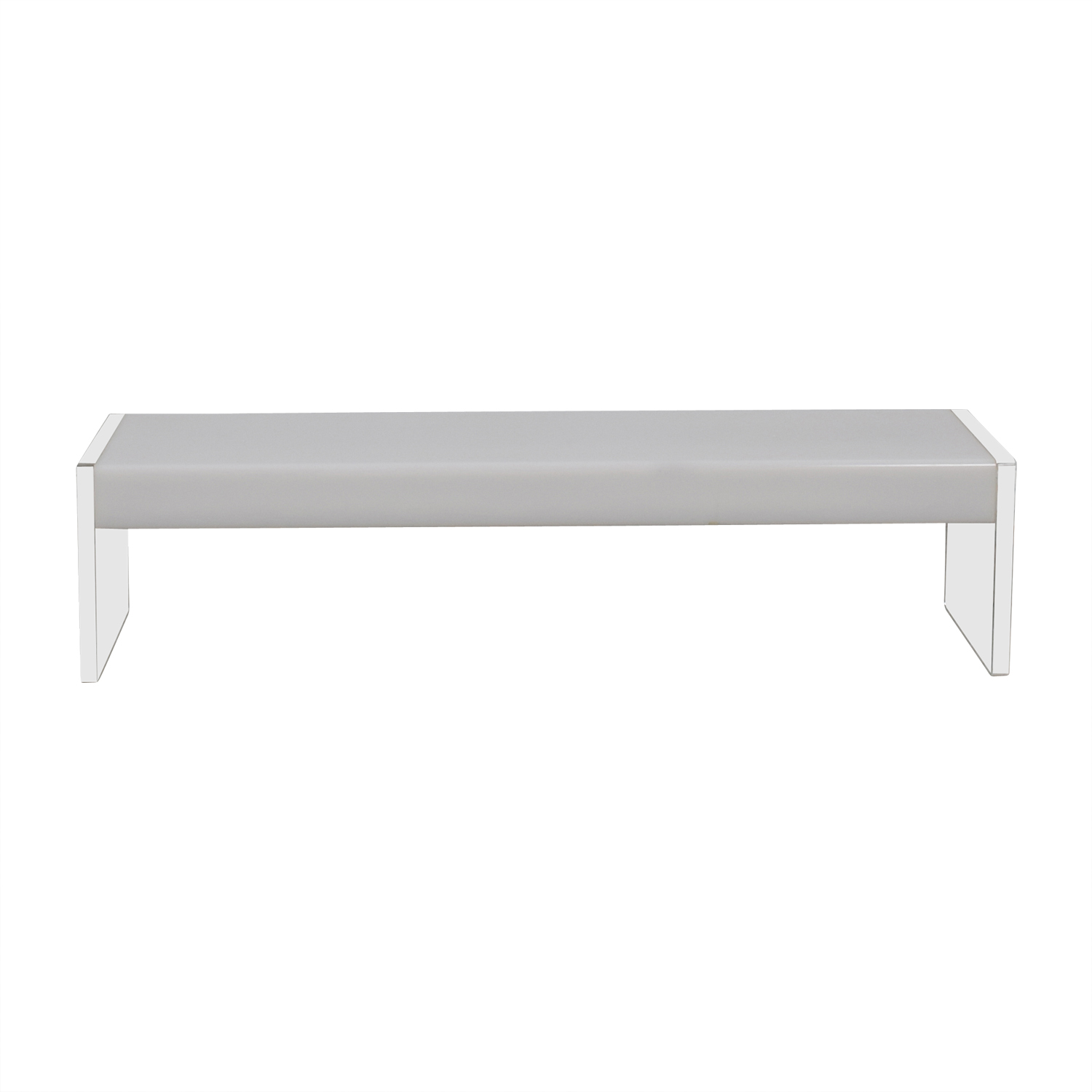 shop Light Up White & Ghost Coffee Table  Coffee Tables