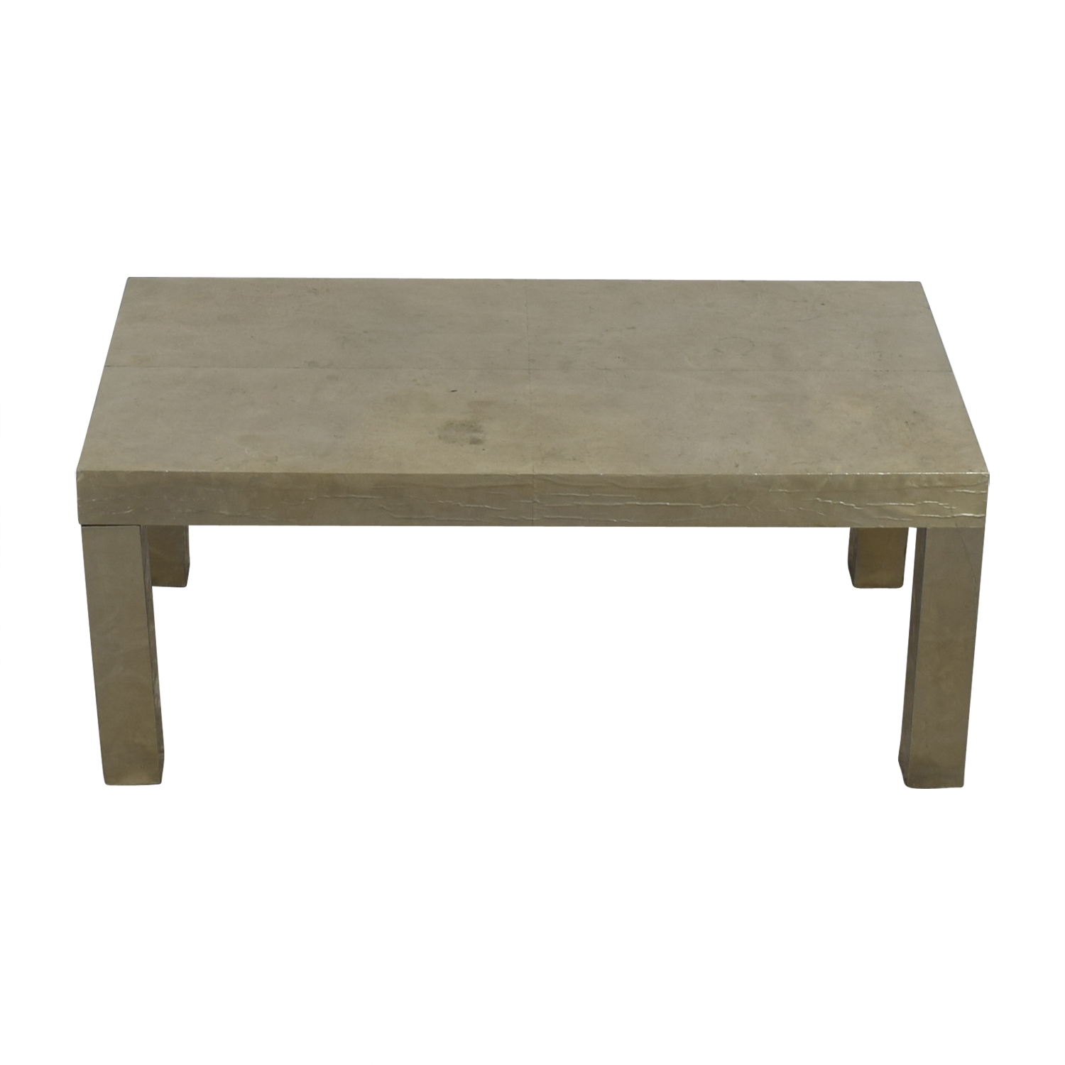 West Elm West Elm Silver Coffee Table Coffee Tables