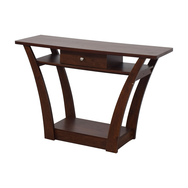 Wayfair Tables: Wayfair Wayfair Wood Single Drawer Console Table