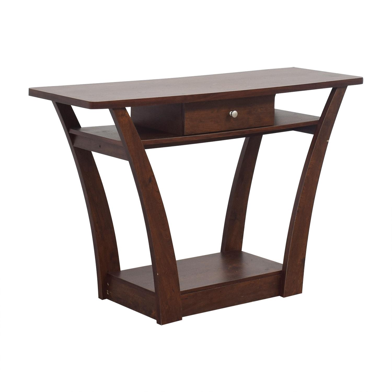 Wayfair Table: Wayfair Wayfair Wood Single Drawer Console Table