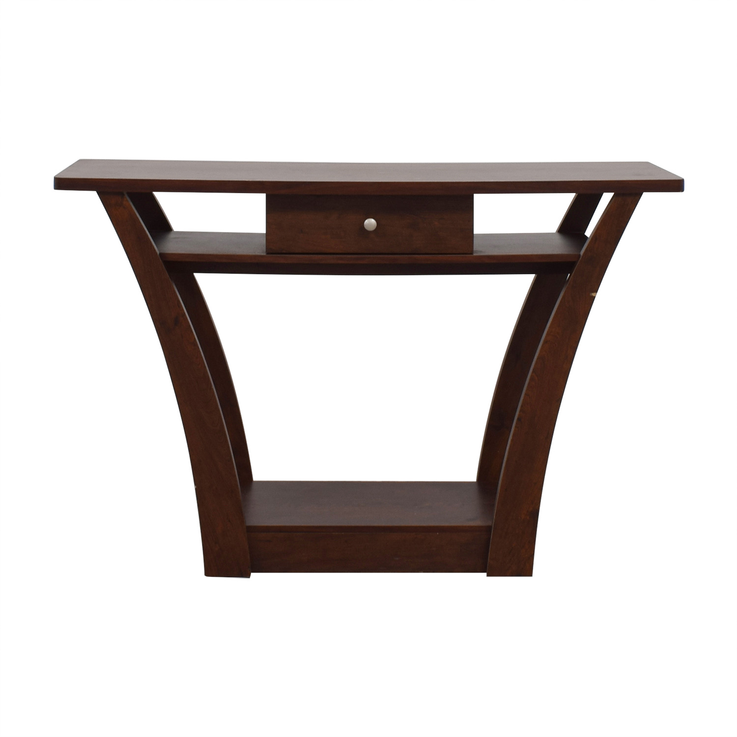 Wayfair Wayfair Wood Single Drawer Console Table second hand
