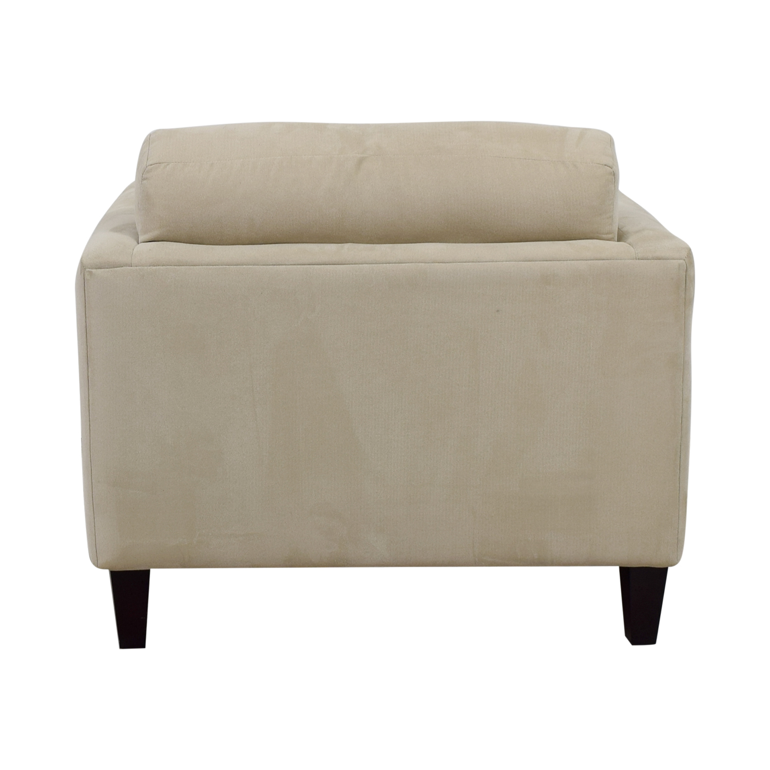 Macy's Macy's Beige Tufted Accent Armchair discount