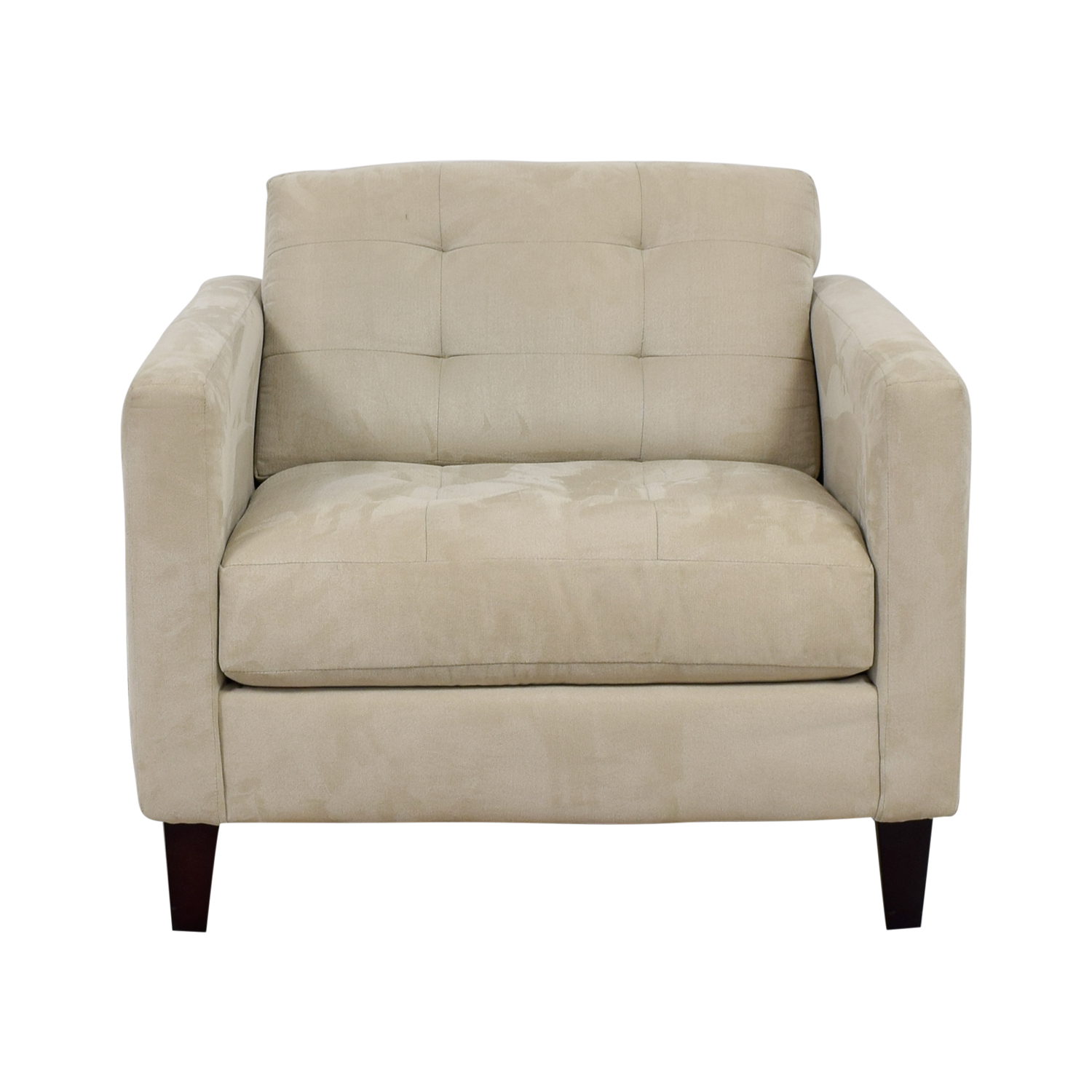 shop Macy's Macy's Beige Tufted Accent Armchair online