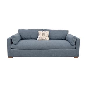 Interior Define Charly Blue Single Cushion Sofa price