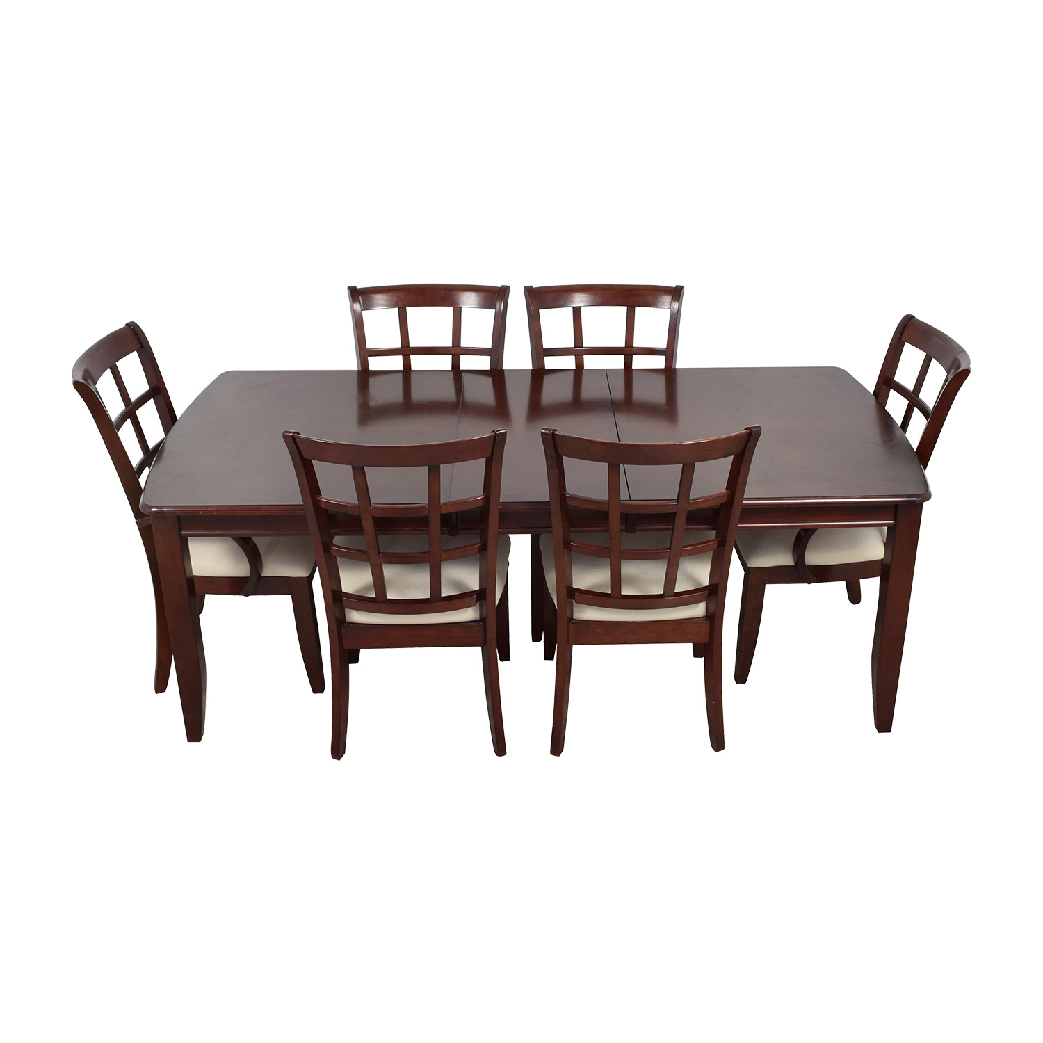 buy Klaussner International Extendable Leaf Wood Dining Set Klaussner International Tables