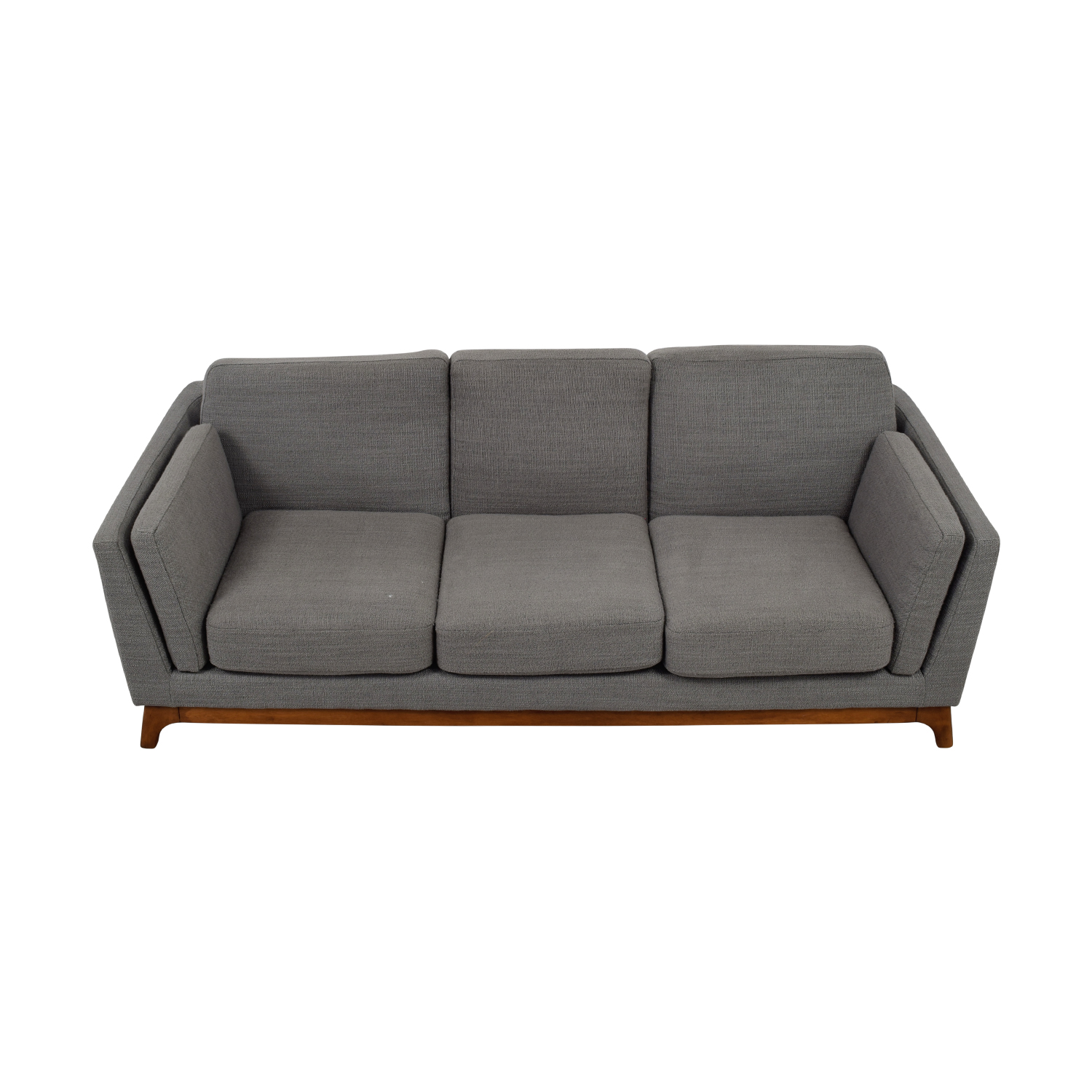 shop Article Ceni Grey Three-Cushion Sofa Article Sofas