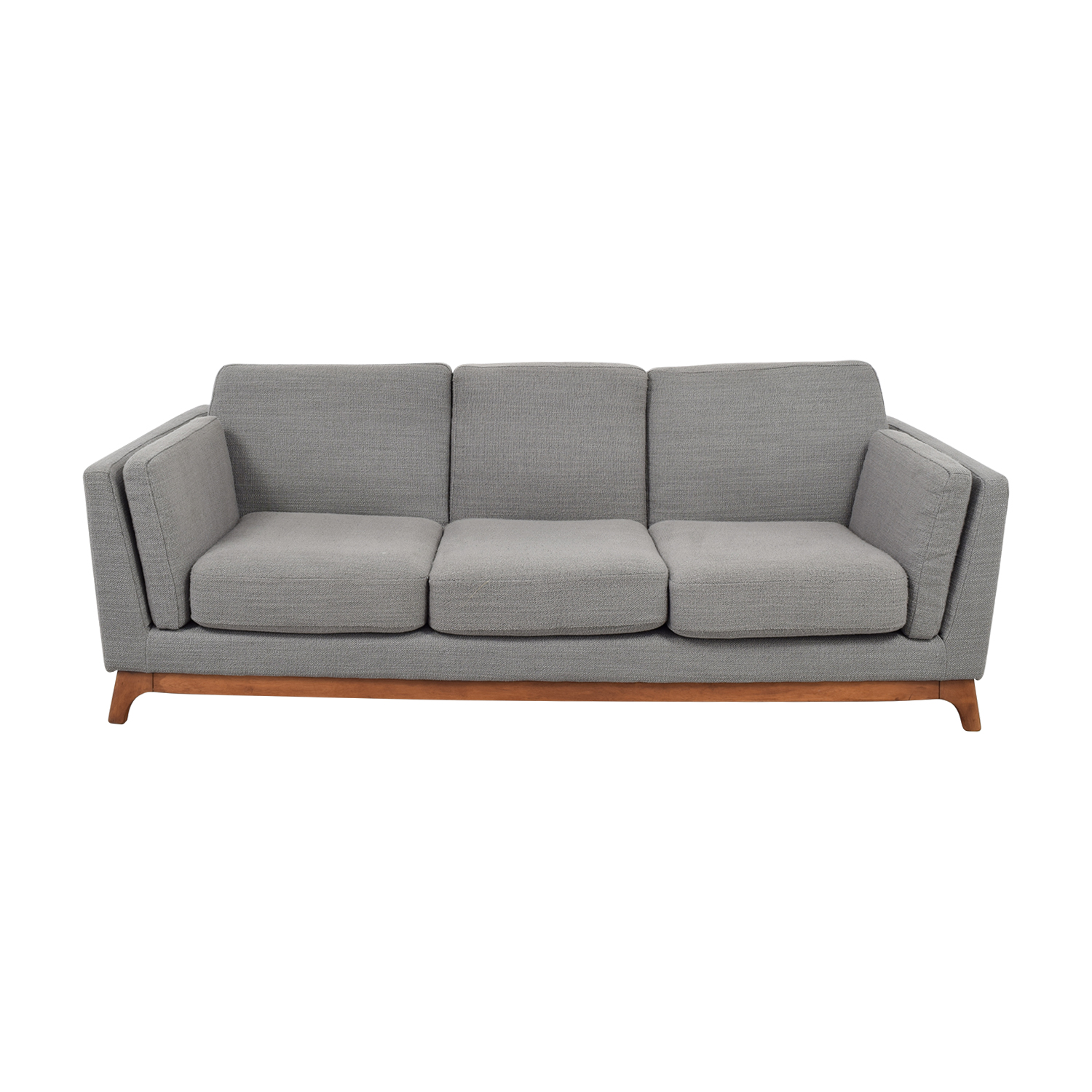 Article Article Ceni Grey Three-Cushion Sofa for sale