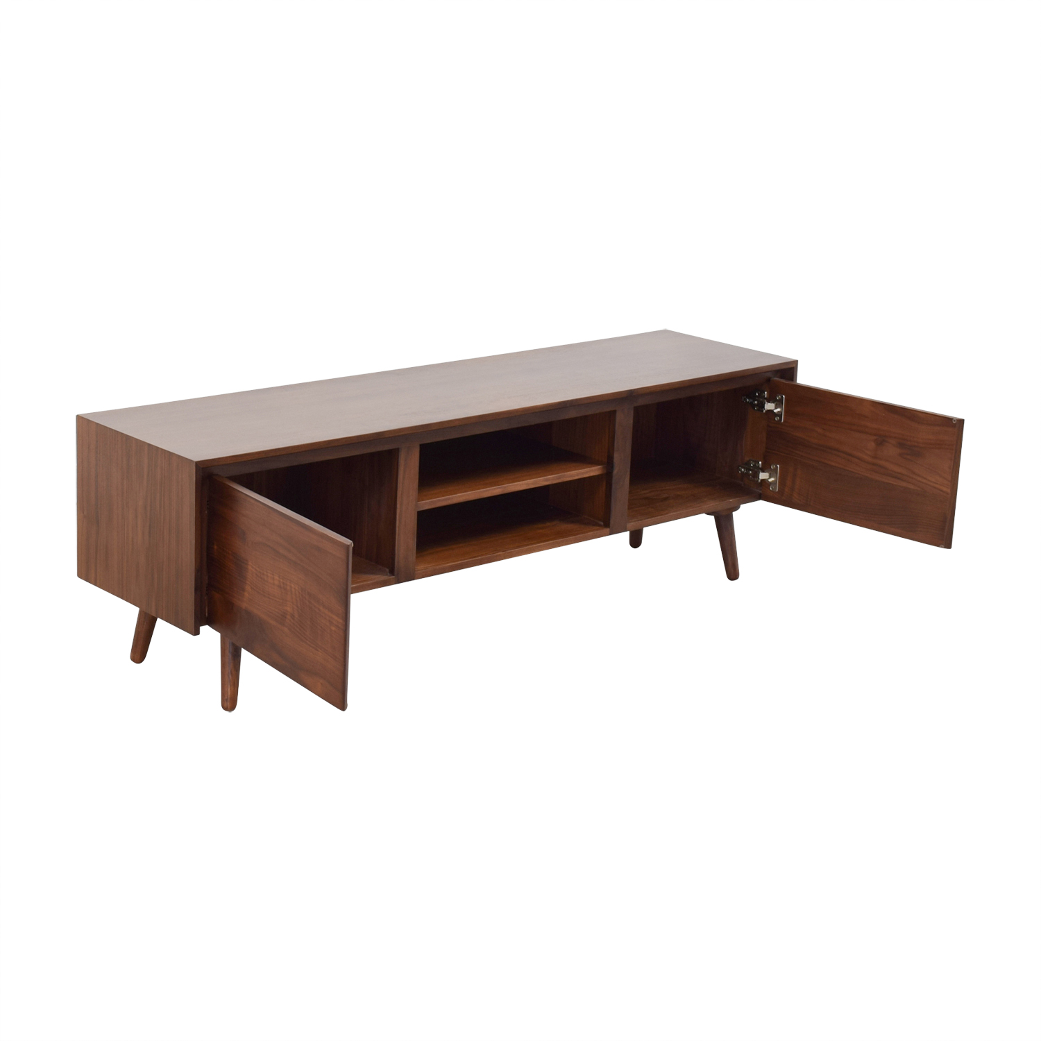 Article Article Seno Walnut Media Console Dimensions