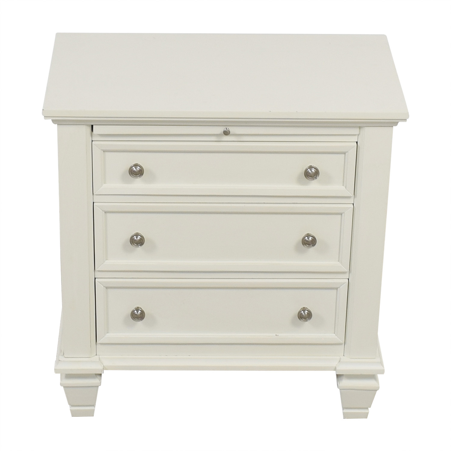 Wildon Home Wildon Home Gilmore Three-Drawer Nightstand nyc