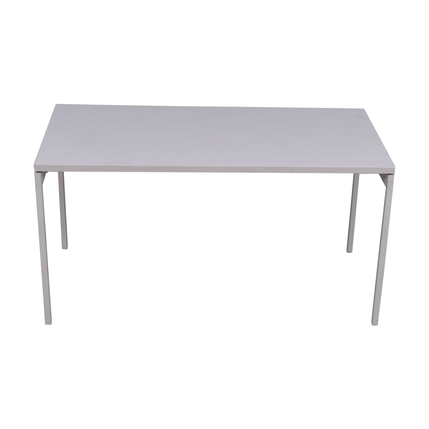 Knoll Knoll White Desk used