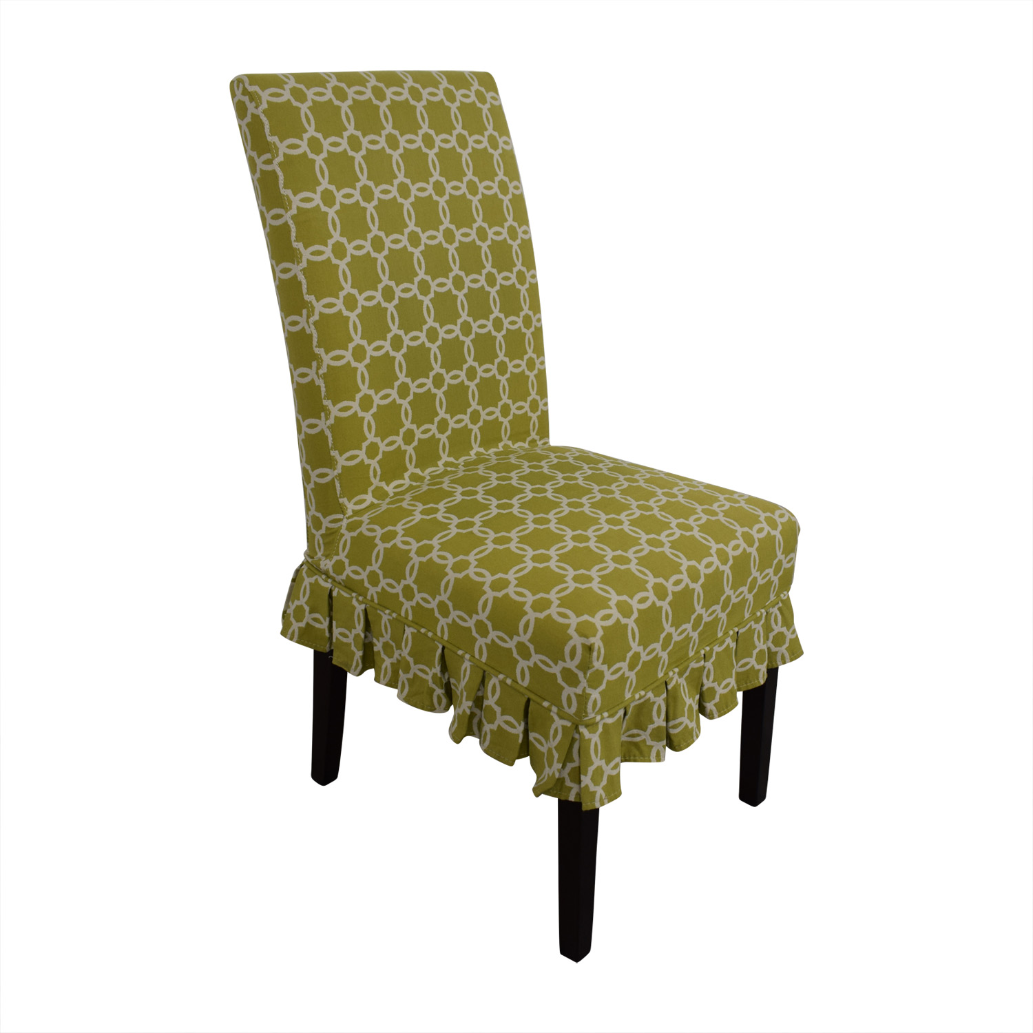 Pier One Accent Chair: Pier 1 Pier 1 Green Accent Chair / Chairs
