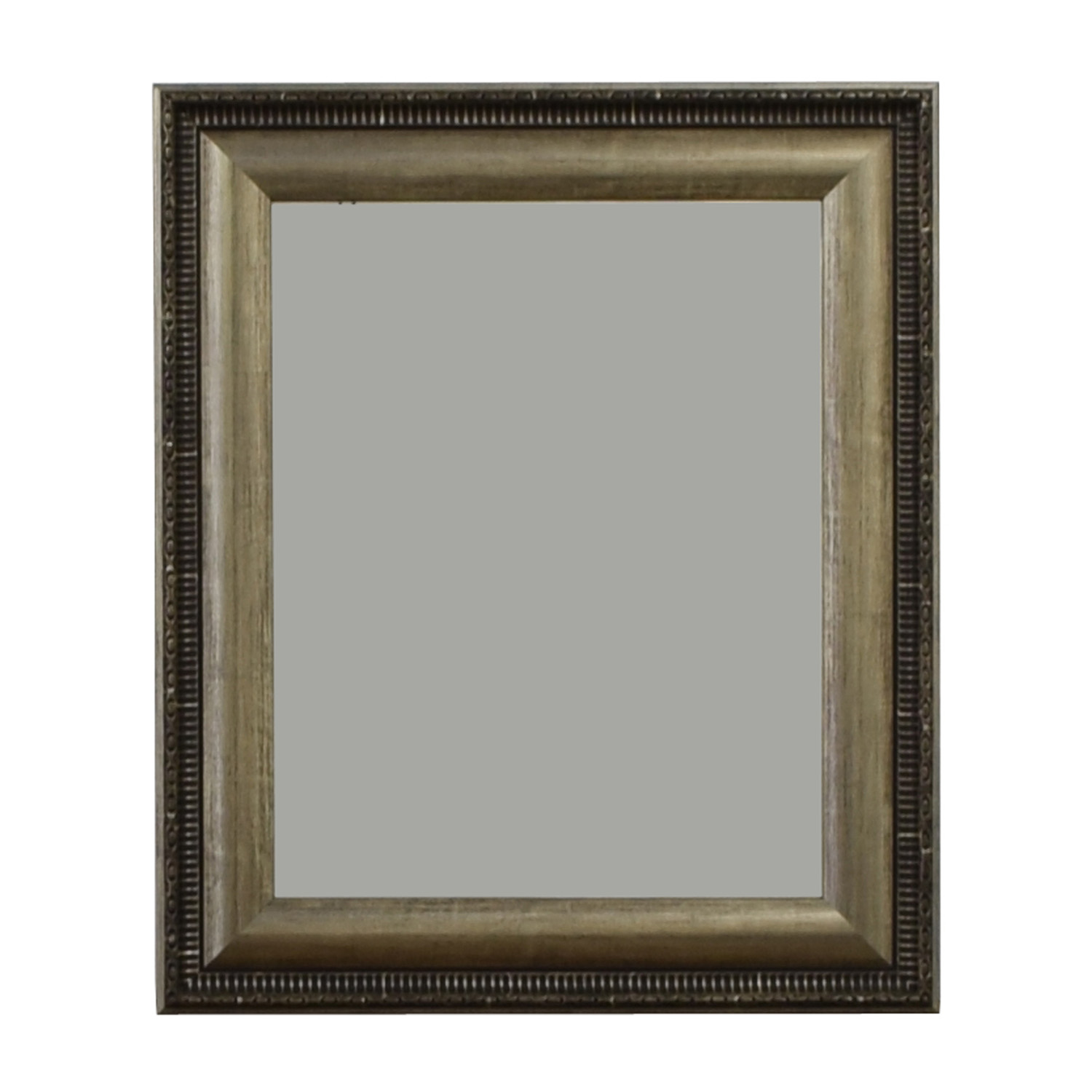 Silver Framed Wall Mirror / Mirrors