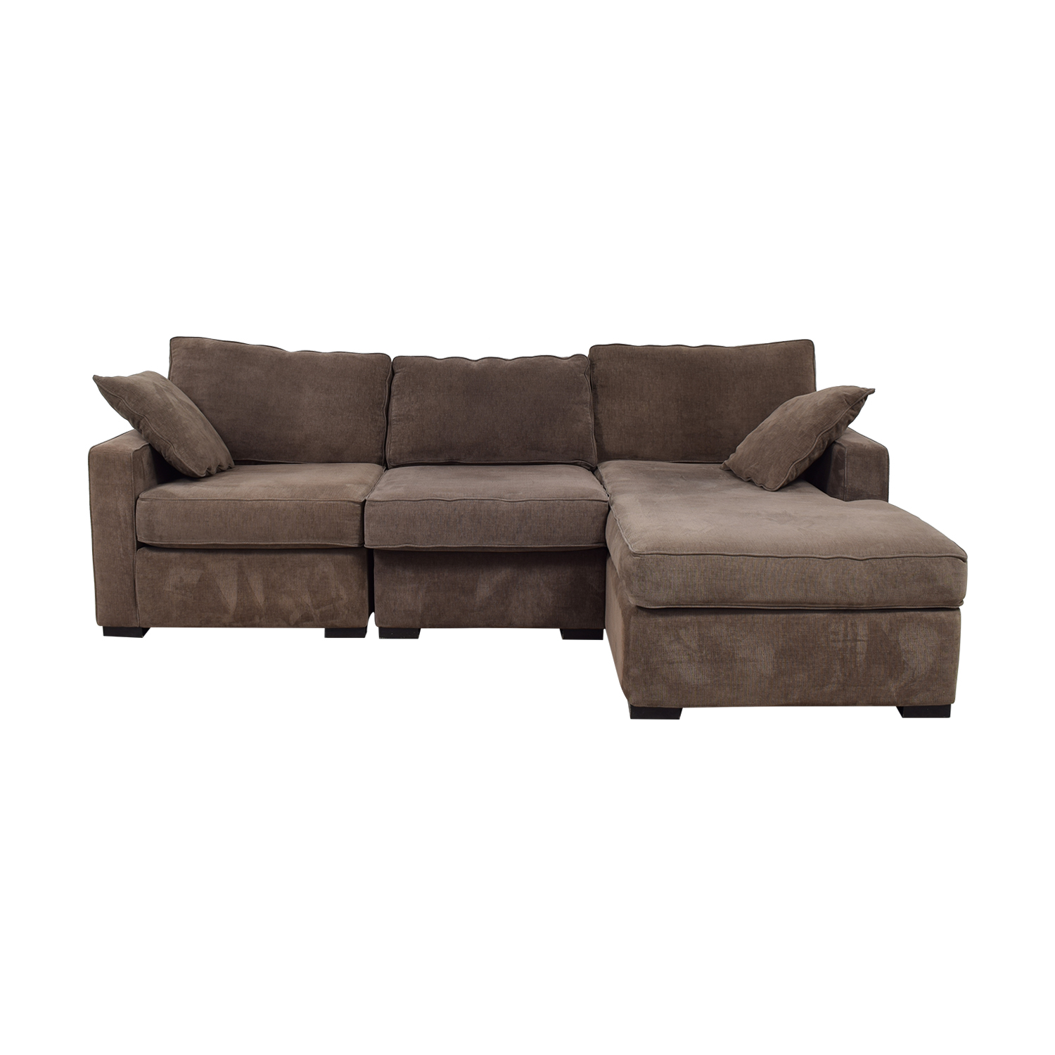 buy Radley Brown Chaise Sectional Radley Sofas