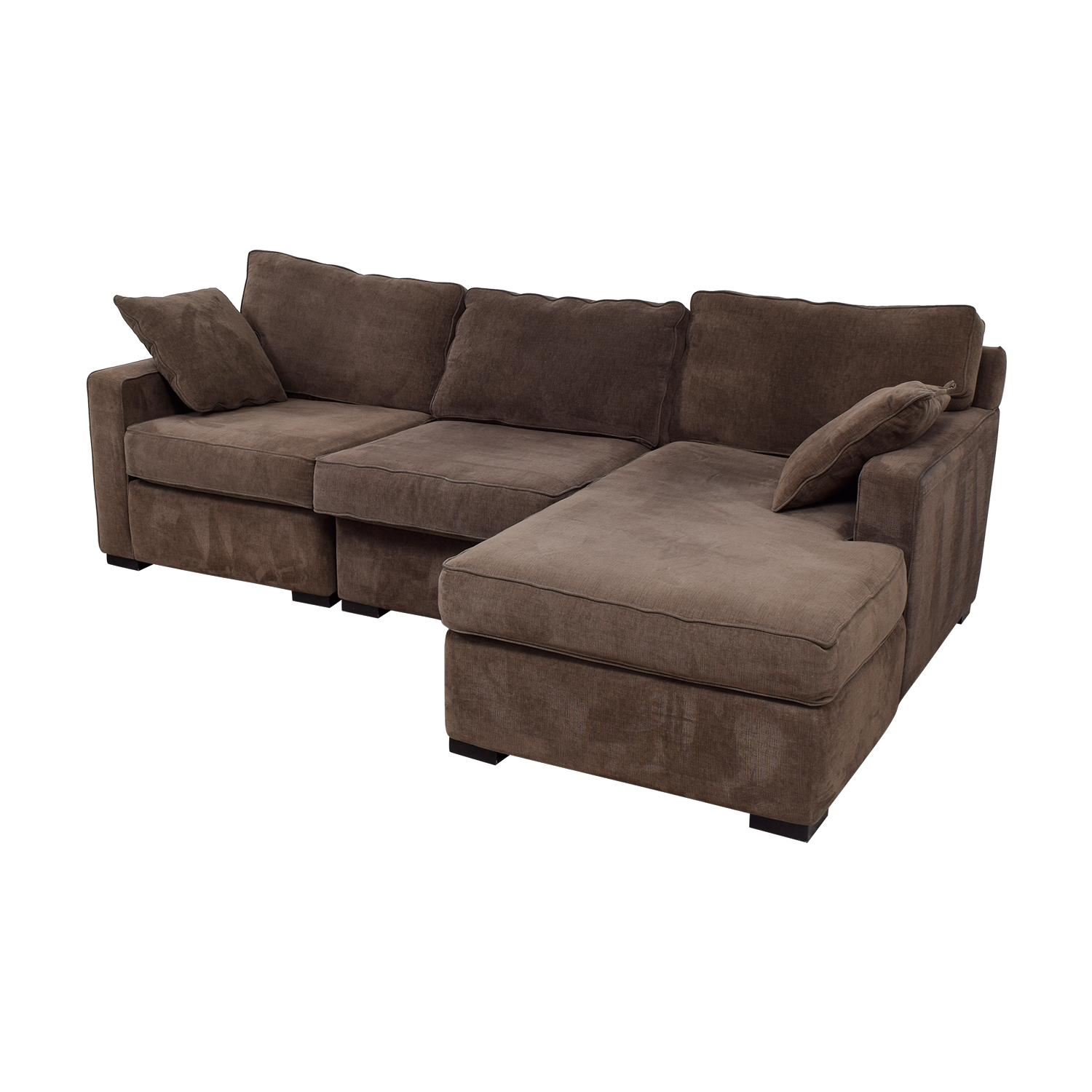 40 OFF Radley Radley Brown Chaise Sectional Sofas