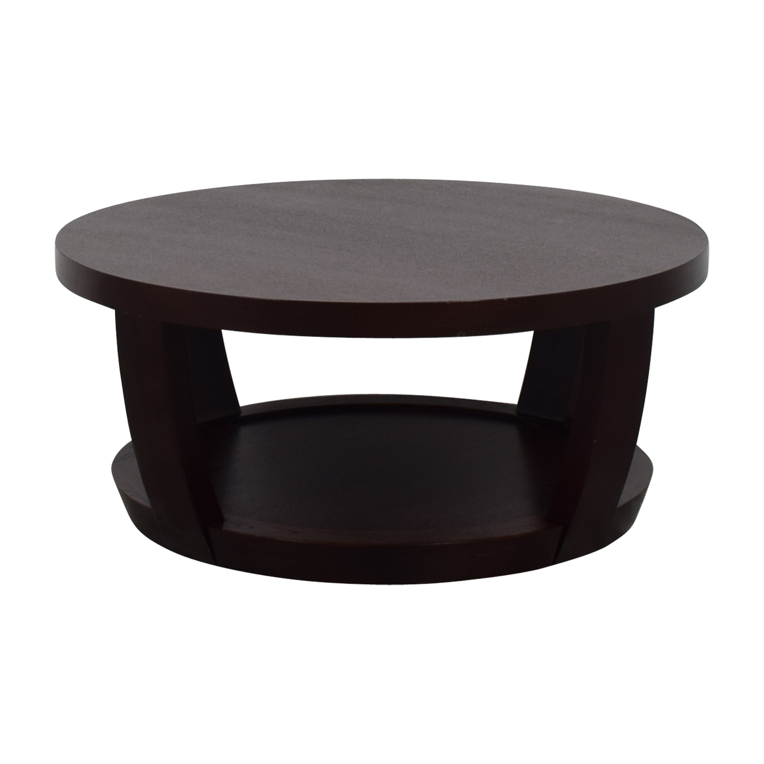 Macy's Macy's Round Wood Coffee Table dimensions