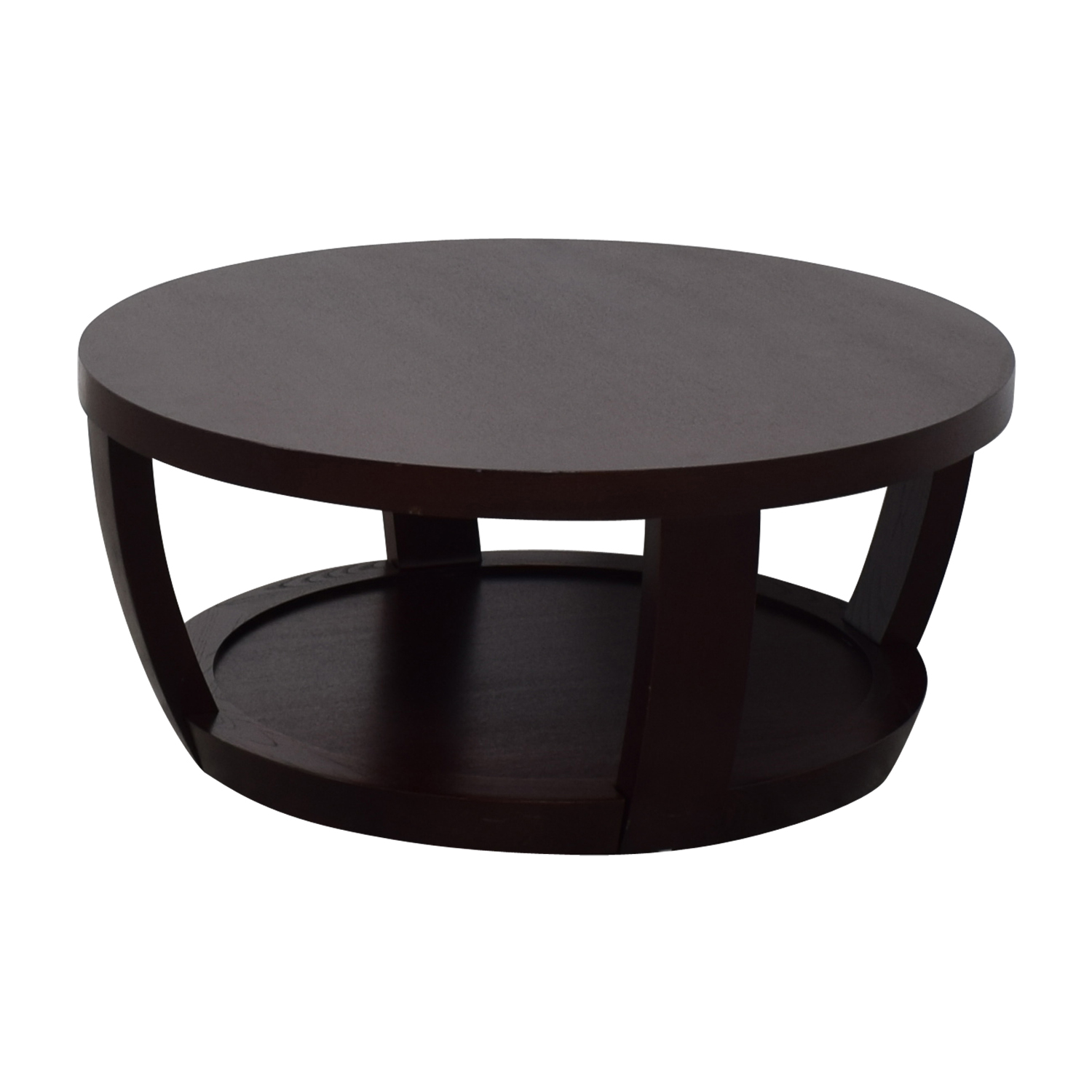 Macy S Marble Top Coffee Table: Macy's Macy's Round Wood Coffee Table / Tables
