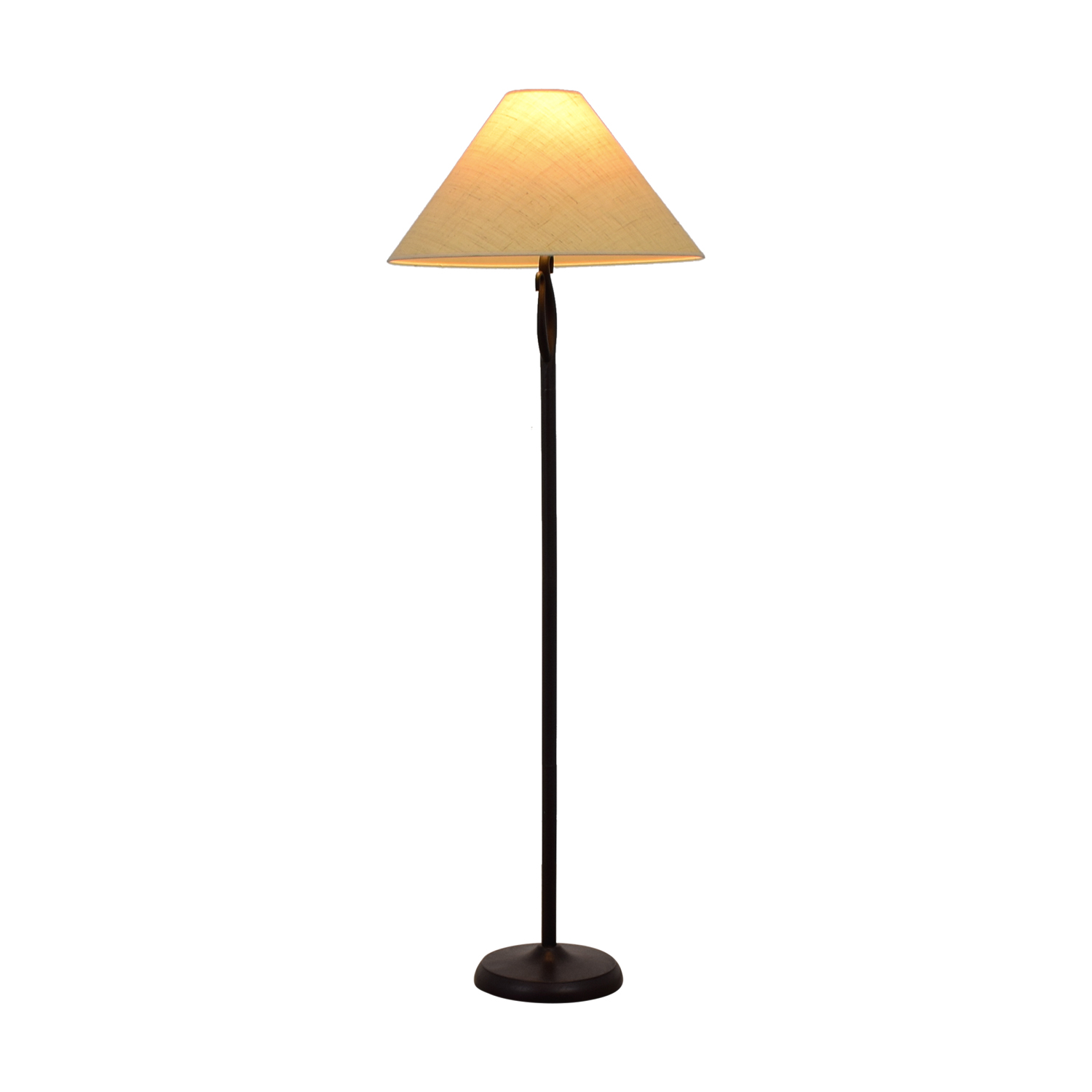 Black Metal Floor Lamp sale
