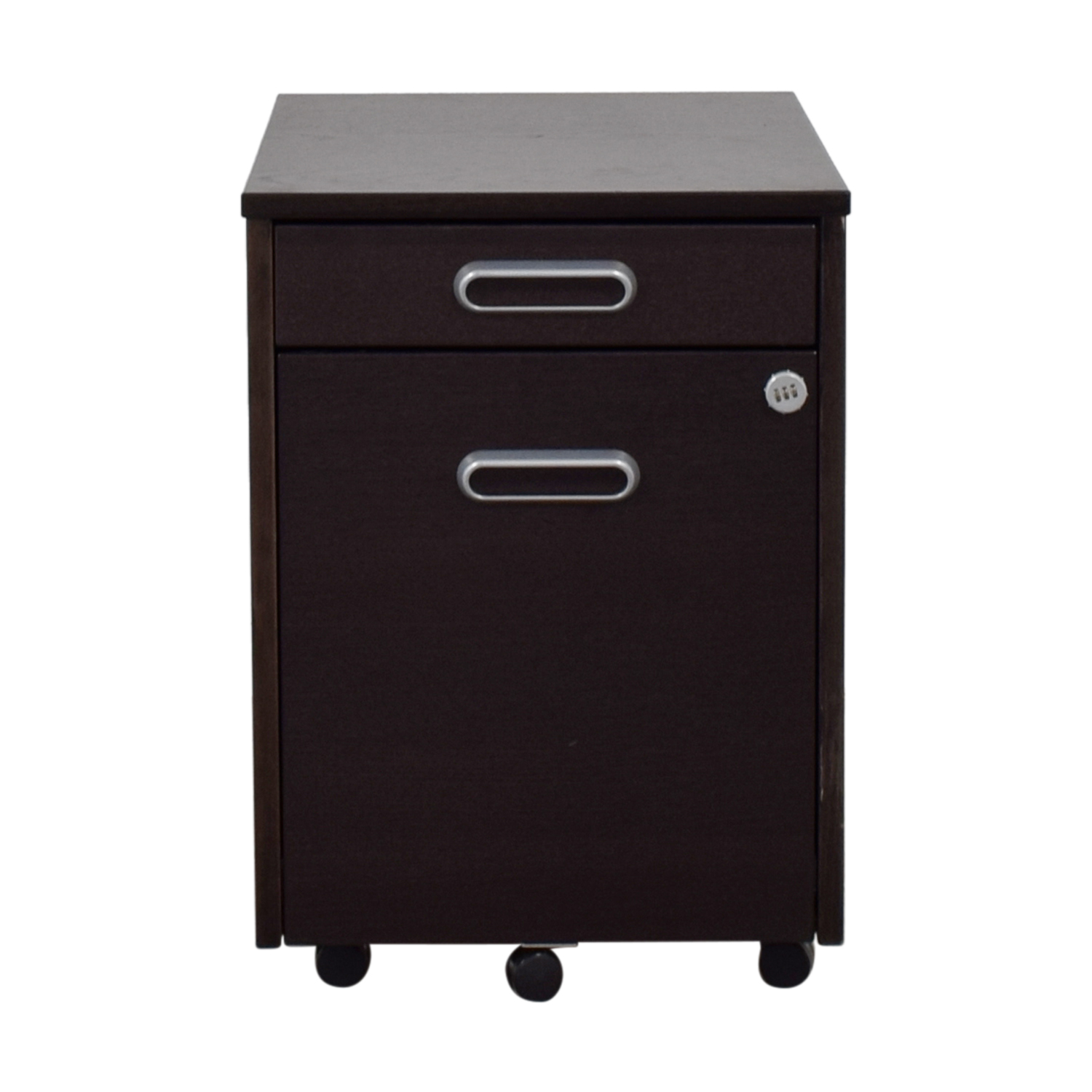 IKEA IKEA Grey Four-Drawer File Cabinet second hand